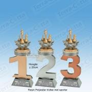 TC110FX-031 Resin standaard nummer met SCHAKEN - MET SERIEKORTING! (±20cm)
