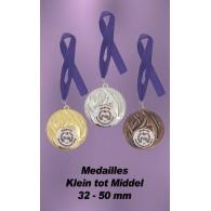 Medailles 40 - 50mm
