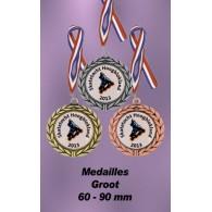 Medailles 60 - 90mm