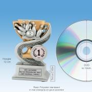 TCR914FG - Resin Standaard BOWLING (hoogte ± 12cm) MET VOLUMEKORTING!