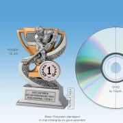 TCR920FG - Resin Standaard IJSHOCKEY (hoogte ± 12cm) MET VOLUMEKORTING!